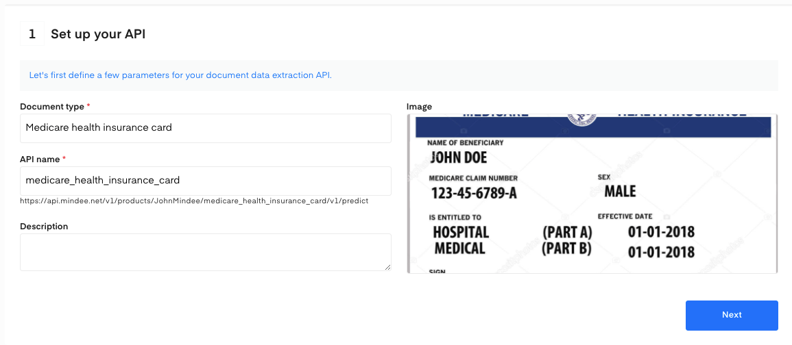 Medicare  health insurance ocr