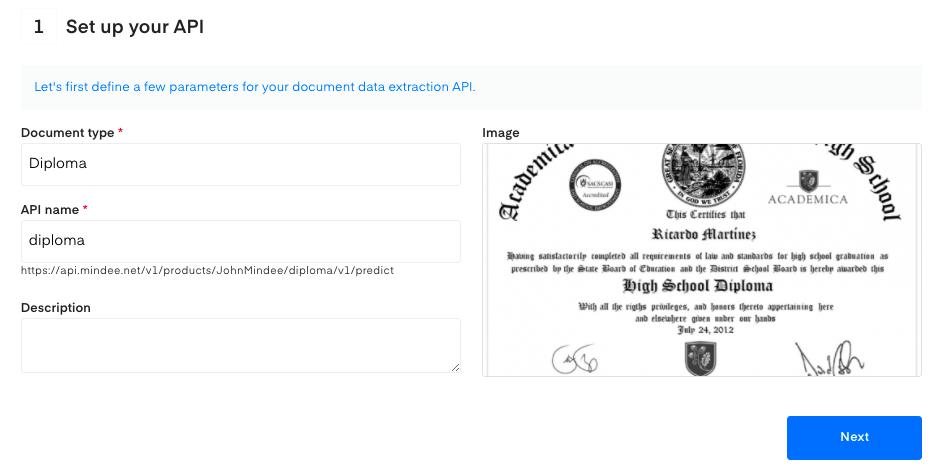 """Setup your diploma OCR API"""""""