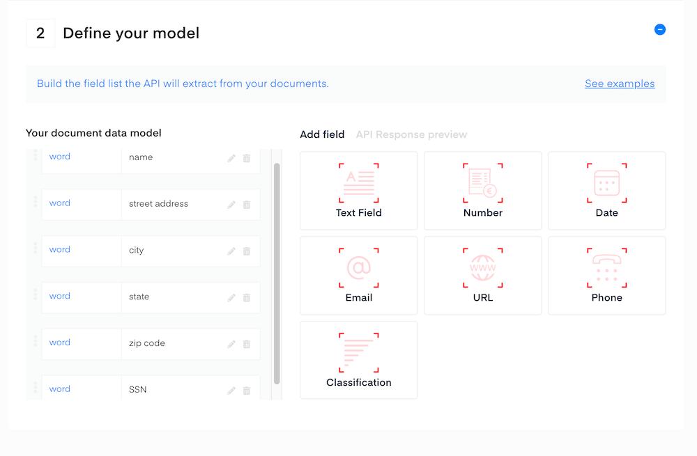 defined model